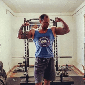 Kai Shaku knows how to build a full body workout