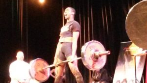 James Greaves breaking the teen deadlift record at the 2015 WUAP-USA Nationals