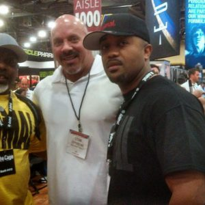 Stan Efferding and Garage Gym Life founder, John Greaves III at the 2013 Arnold Fitness Expo