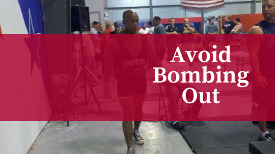 avoid bombing out at your next powerlifting meet with a few key tips