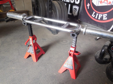 DIY Jack Stand Curl Station by Michael D. Wailes