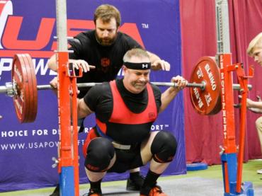 Michael Wailes Powerlifting's Lionheart