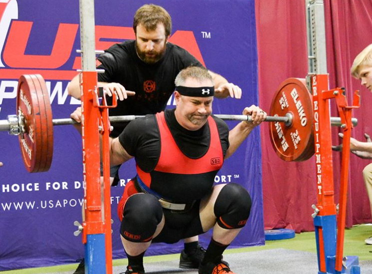 After surviving three heart attacks, Michael Wailes turned to powerlifting as a training outlet