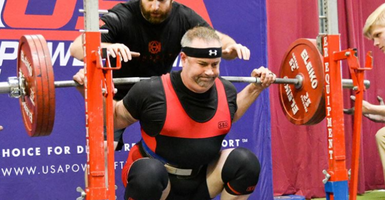 Michael Wailes Powerlifting's Lionheart