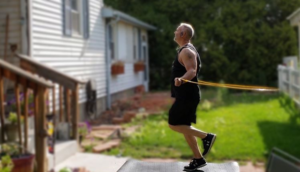 Michael Wailes prefers to jump rope as part of his conditioning