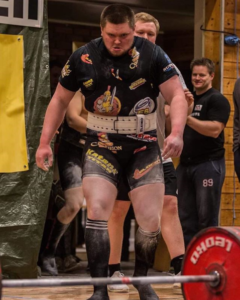 Erik Røen about to put on a show on the IPF platform