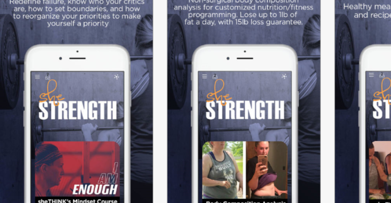 The sheStrength App and a Sisterhood of Steel !