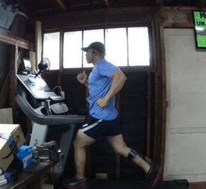 Pete Armas uses the Pose Method to help him complete triathlons, 5ks and marathons