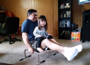 zero to fitness was important to let Pete Armas, Jr play with his kids again