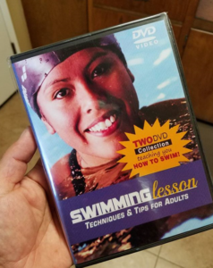 Triathlete Pete Armas is a self taught swimmer