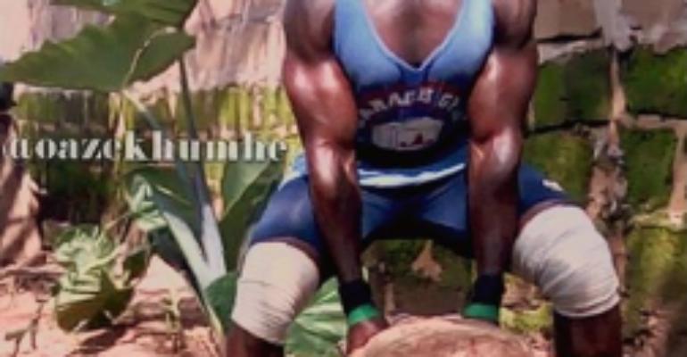 Get To Know Nigerian bodybuilder Azekhumhe Omoh