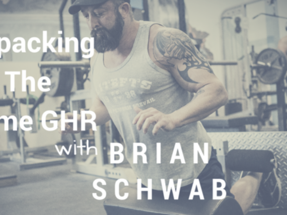 Breaking Down the Home GHR with Brian Schwab