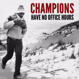 Marvin Hagler motivational poster