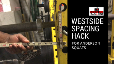 Westside Spacing Hack for Anderson Squats