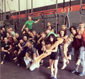 Warrior Up Fitness founder Julie Beck at a MovNat Level 1 certification