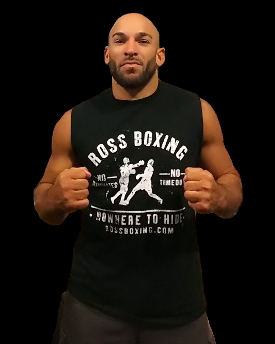 low tech high effect has made Ross Enamait a successful boxing and strength and conditioning coach of champions