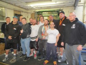 Jerome Bloom and other grip athletes