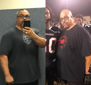 Iron Mike Reid after losing 60lbs