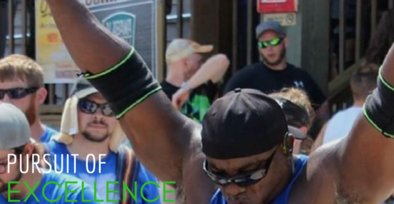 Pursue Excellence with Masters Strongman Brian Pankey