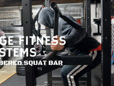Edge Fitness Systems Cambered Squat Bar – Initial Impressions Review