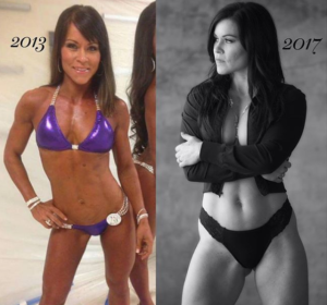 former Bikini competitor Yolanda Presswood says she's happier now that she's learned to accept her bodytype