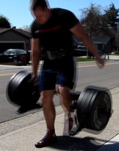 Joe Gray put the Edge Fitness Rickshaw through a tough year of workouts