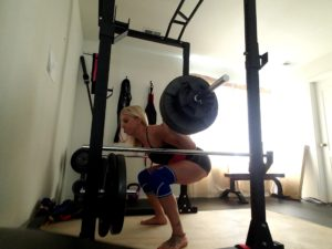 heidi king lifting at home