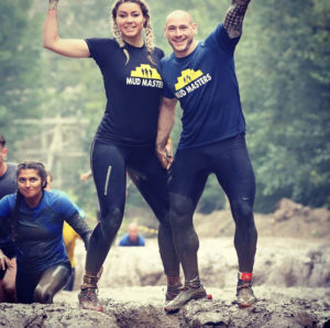 Tim Geurts and Chantal Lekkerkerker share a love for obstacle course racing