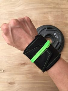 PRess It Wristwraps uses a European lanyard closure using parachute cord instead of the traditional hook and loop closure