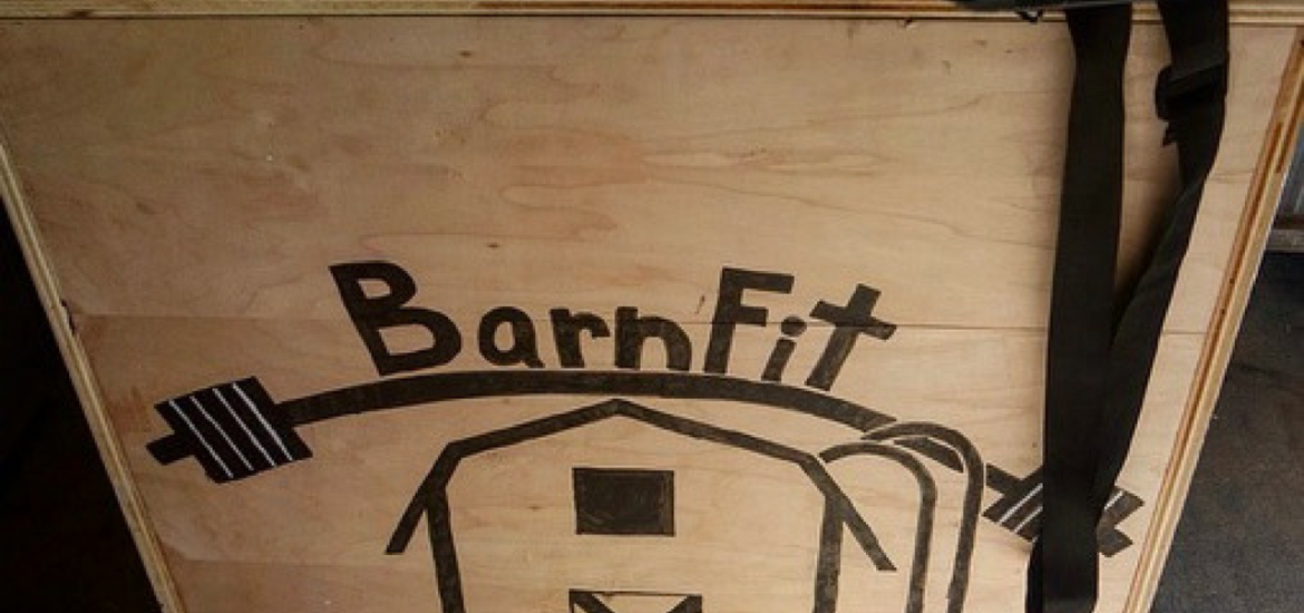 The BarnFit Gym logo