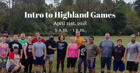 Mongrel Garage Strength owner Timothy Louisignau put together an Intro to Highland Games Workshop
