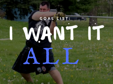 Rocco Walsh: Powerlifting, Highland Games and Strongman. Why Not?
