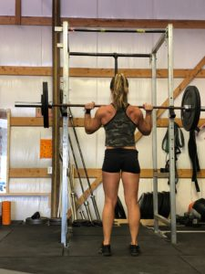temporarily removing all shoulder exercises helped Anna Woods become a durable athlete