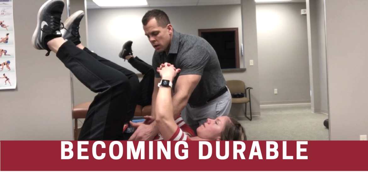 Dr. Jared Shoemaker gave Anna Woods the tools to become a durable athlete