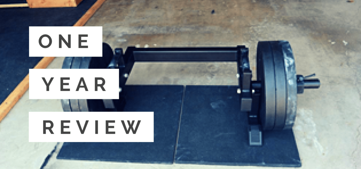 The Edge Fitness Systems Rickshaw One Year Review by Joe Gray
