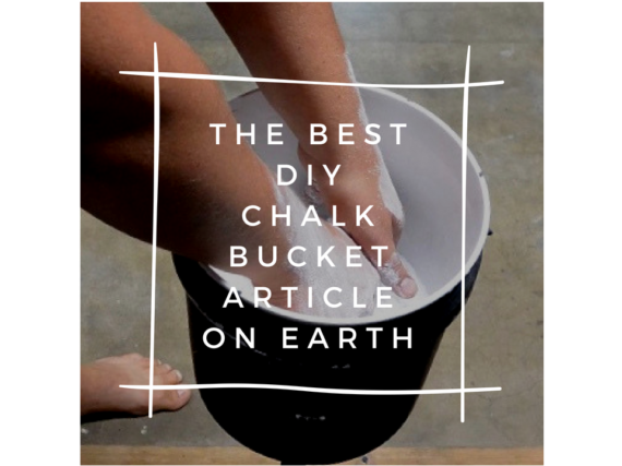 DIY Chalk Bucket