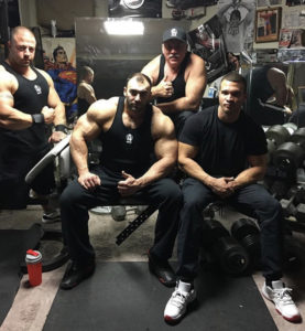 group picture after training in the Mass Dungeon