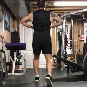 Rich Dlin has emphasized building lean muscle as part of his recovery