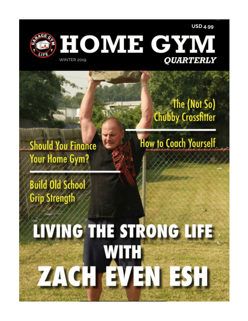 The Home Gym Quarterly is the only magazine in the world specifically for home gym owners