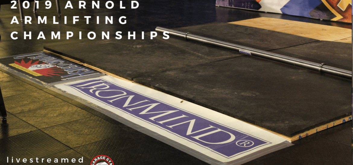 Arnold Armlifting Championships cover image