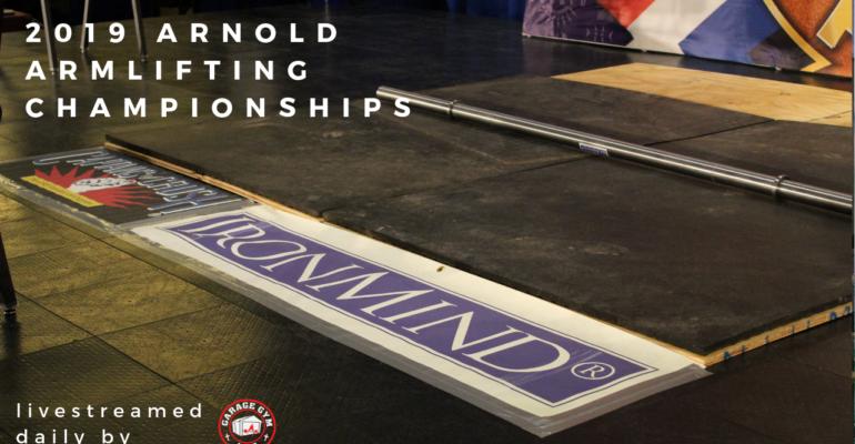 Arnold Armlifting Competition Recap