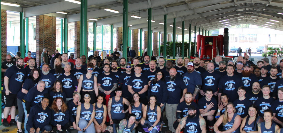 the 2019 Central Georgia Strongest Man was the largest yet with 84 competitors from across the United States