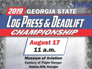 Georgia Log Press and Deadlift Live Stream