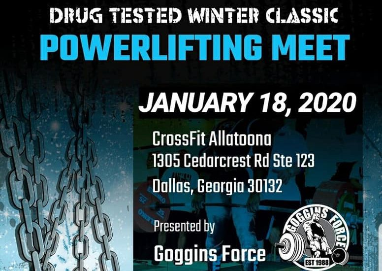 Garage Gym Life Media has four more livestreams currently scheduled including the USPA Drug Tested Winter Classic