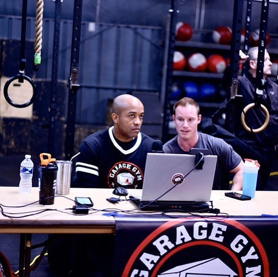Powerlifting coach Dave Spitowski sitting in with Garage Gym Life Media during USPA Dirty South Championships