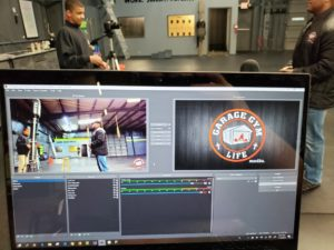 Checking the stream quality before the USPA Dirty South Powerlifting Championships